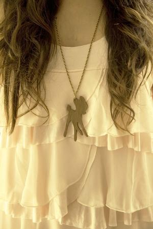 brown m de marta necklace