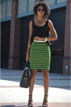 Primark top - Gregory Sylvia purse - Forever 21 heels