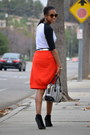 Lamb-purse-reiss-skirt-target-t-shirt