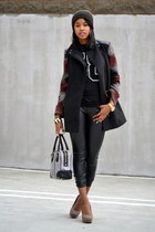 Forever 21 coat - LAMB purse - Primark heels