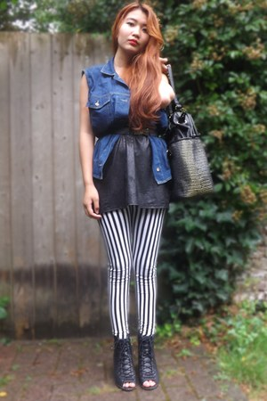 River Island shoes - Ebay leggings - Lavand bag - Urban Outfitters top