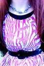 Black-creepers-ebay-shoes-hot-pink-zebra-print-h-m-dress
