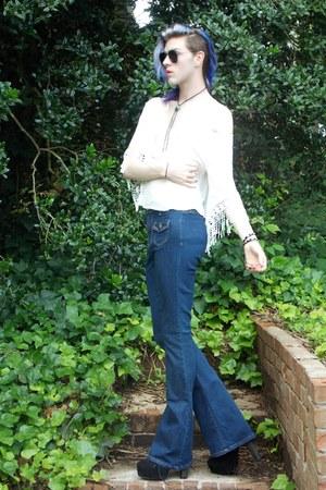 bell bottom gypsy warrior jeans - aviator 2020AVE sunglasses