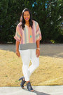 Payless-boots-white-american-eagle-jeans-forever-21-blouse