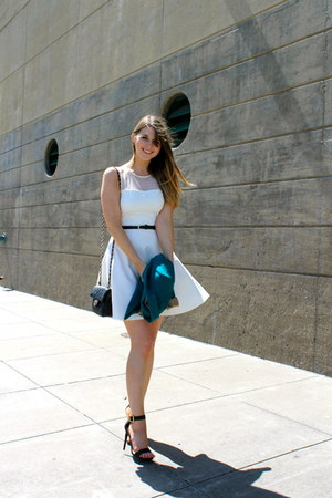 Loveady dress - Forever 21 blazer - Urban expression bag - Cathy Jean sandals