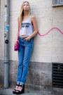 Boyfriend-jeans-new-look-jeans-asos-shirt-pink-small-bag-zara-bag