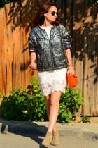 H&M jacket - Zara boots - Monsoon dress - Fendi bag - Ray Ban sunglasses