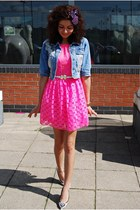 asos dress - Rosa & Rose jacket - Moda In Pelle heels