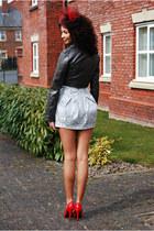 River Island skirt - TK Maxx jacket - TK Maxx heels