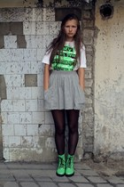 House Men shirt - H&M boots - Zara skirt