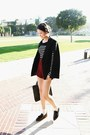 Brick-red-stylenanda-shorts-black-stylenanda-acc-bag-black-stylenanda-cape