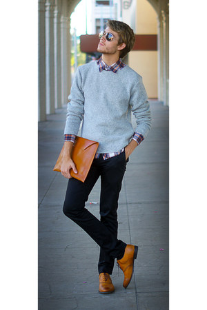 grey gudrun & gudrun sweater
