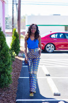 Ross top - Ankara Print Pants pants