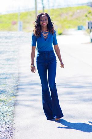 Topshop top - PYLO jeans