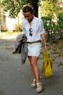 White-oggi-shirt-mustard-zara-bag-olive-green-topshop-sunglasses
