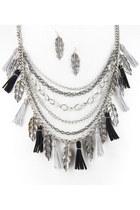 black INPINKcom necklace