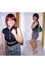 Green-nila-anthony-purse-black-forever21-skirt-black-forever21-top-beige-n