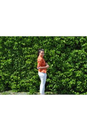 Mango jeans - Zebra Fashion blazer - Primark sandals - Primark t-shirt