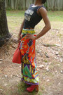 Red-epi-alma-louis-vuitton-purse-bohemian-maxi-skirt-jeffrey-campbell-clogs