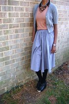 Skirts and cardigans skirt