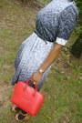 Dress-red-epi-louis-vuitton-purse-socks-patent-leather-coach-watch-black