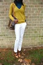 Mustard and mayO pants