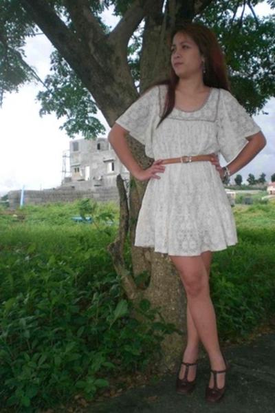 Vintage Creamy White Dress
