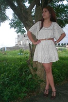 Vintage Creamy White Dress