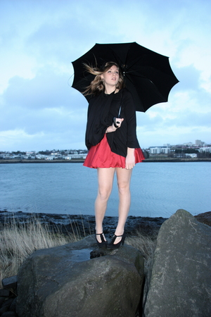 Brenda J shoes - Forever 21 dress - Emami dress blazer