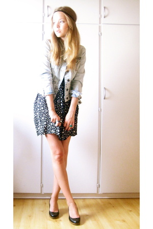 Topshop dress - Topshop jacket
