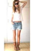 H&M t-shirt - shorts - Ray Ban sunglasses