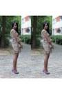African-print-chickoy-fashion-dress-studs-primark-bag-primark-heels