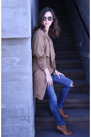 Dolce Vita boots - Citizen of humanity jeans - Anthropologie jacket