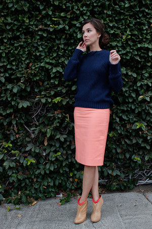 31 Phillip Lim for Target sweater - bcbg max azria boots - JCrew skirt