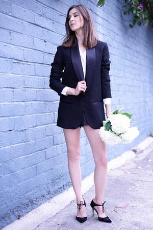 H&M blazer - Jimmy Choo heels