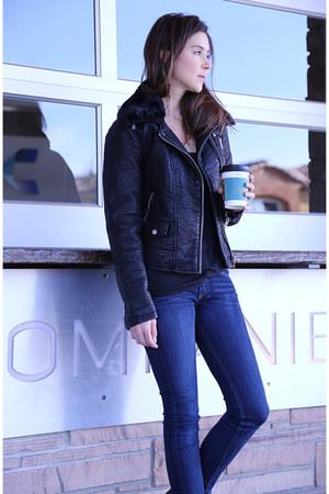 Zara jacket - Alexander Wang boots - rag & bone jeans