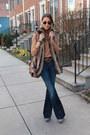 Citizens-of-humanity-jeans-zara-shirt-d-g-belt-faux-fur-ellen-tracy-vest