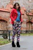 H&M shirt - second hand pants