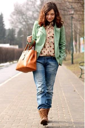 Sheinside jacket - Sheinside shirt