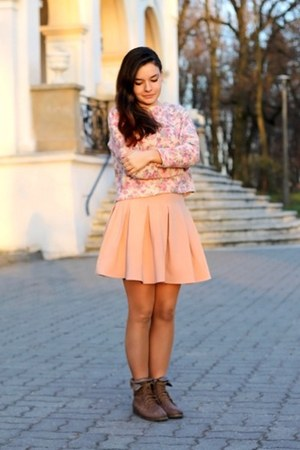 pink Front Row Shop skirt - bubble gum choiescom shirt