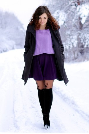 sweater - skirt