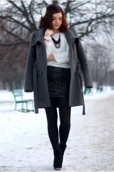 sequin H&M skirt