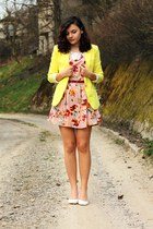 AHAISHOPPING jacket - Sheinside dress