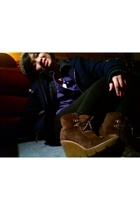 Brooks Brothers shirt - JCrew sweater - American Eagle coat - H&M hat - Kors by