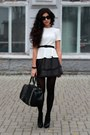 Black-marco-pini-shoes-black-zara-bag-black-handmade-skirt