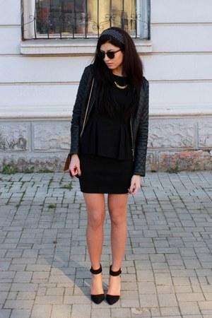 Be free blazer - asos bag - asos heels - H&M blouse