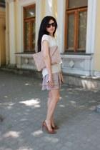 Bershka shoes - asoscom bag - Mango glasses - Pnk Casual blouse