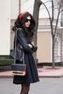 Red-asos-shoes-black-asos-dress-black-be-free-jacket-ruby-red-asos-bag