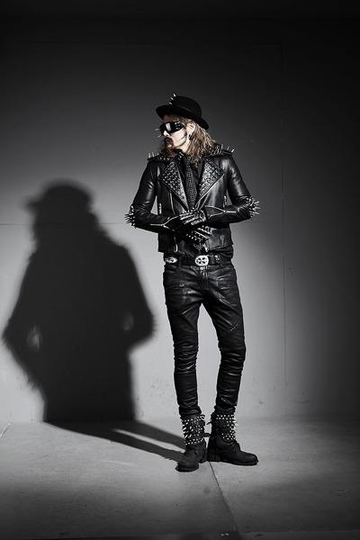 leather jacket Jacket blazer - black pants pants