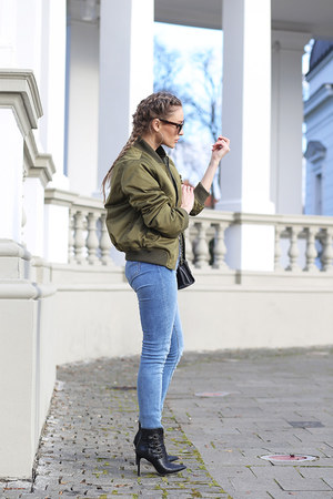 lookbookstore jacket - choiescom boots - c&a jeans